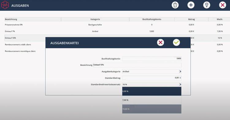 Ein online geführtes Kassenbuch bei Ikosoft