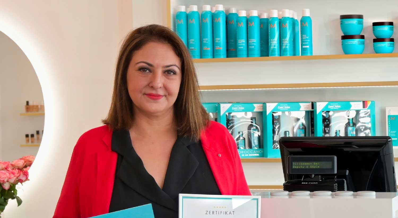 Friseurbedarfsgroßhandlung. Moroccanoil ist Spitzenreiter und Pionier im Bereich der ölbasierten Beauty-Produkte