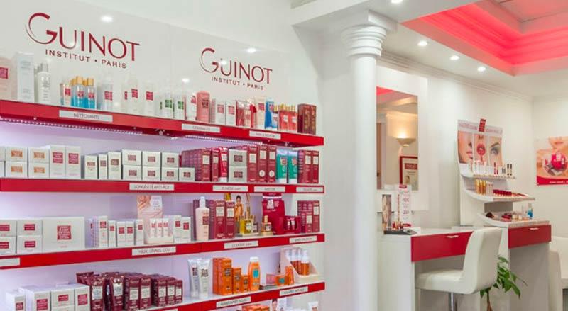 Auf dem Postkamp in Hannover hat Guinot eine Oase der Schönheit und des Wohlbefindens geschaffen